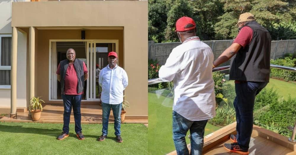 Mixed reactions after William Kabogo hosts Uhuru Kenyatta