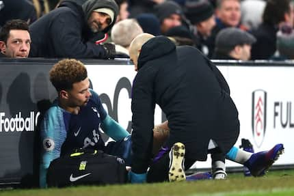 Headache for Pochettino as Spurs' star forward joins list of injured players ahead of Chelsea tie
