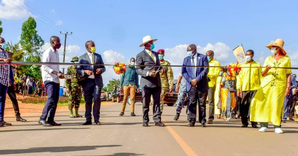 Yoweri Museveni: Hilarious reactions after Ugandan president launches water tap