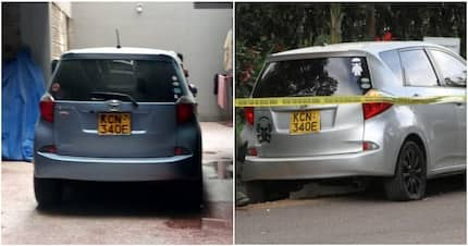 Confusion as another car bearing same registration with one used by terrorist is found in Kitengela