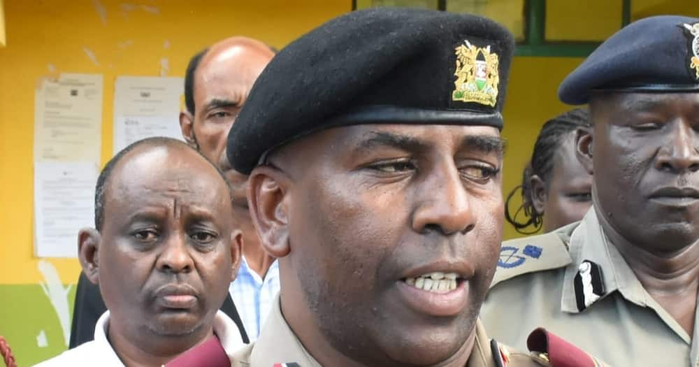 Isiolo county commissioner Hamman Shambi. Photo: Kenya News Agency.