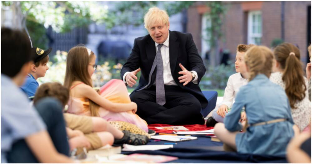 Boris Johnson Spends Day with Children, Promises to Recover Lost Learning With Over 100m Hours of Tuition