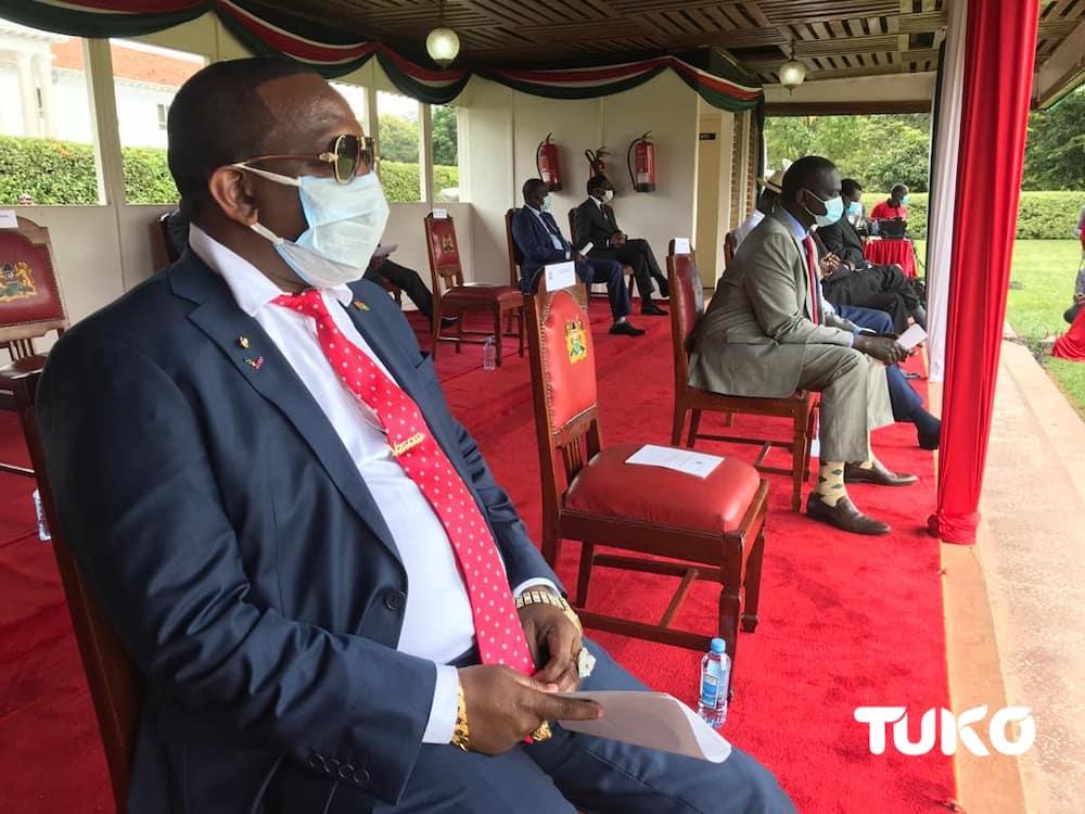 Uhuru, Ruto spotted in matching outfits as Kenya celebrates 57th Madaraka Day