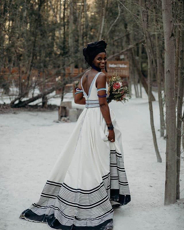 kitenge wedding dresses
