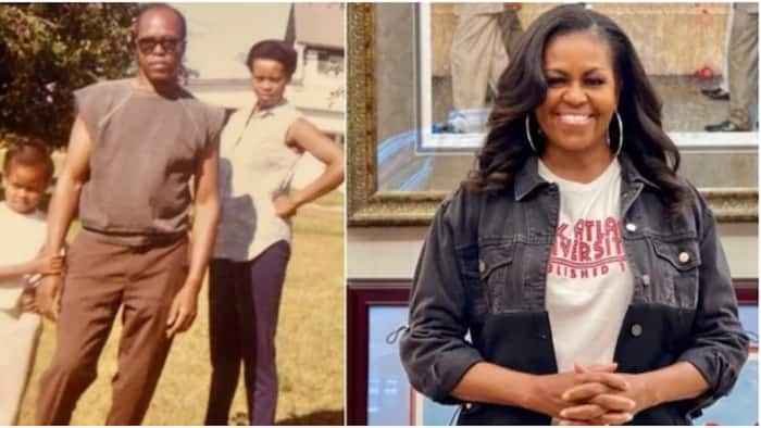 """Father's Day: Michelle Obama Remembers Dad in Heartwarming Note:"""" I Thought He was Cool"""""""