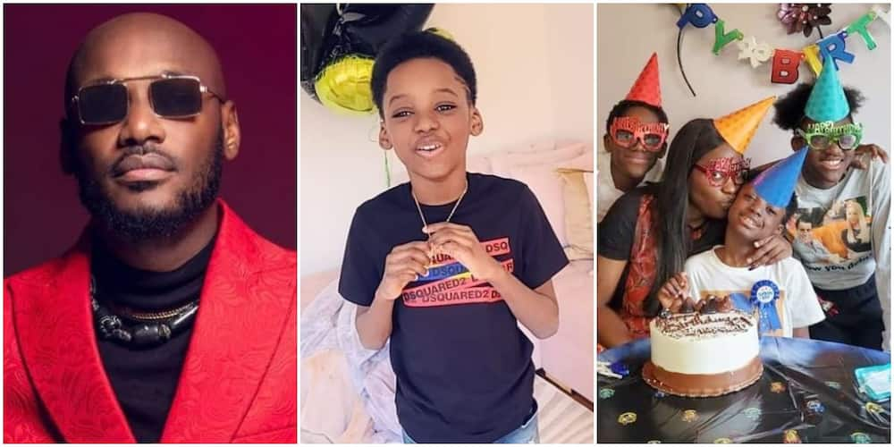 Singer 2baba's Lookalike Son with Baby Mama Pero Marks 9th Birthday with Lovely Video, Photos