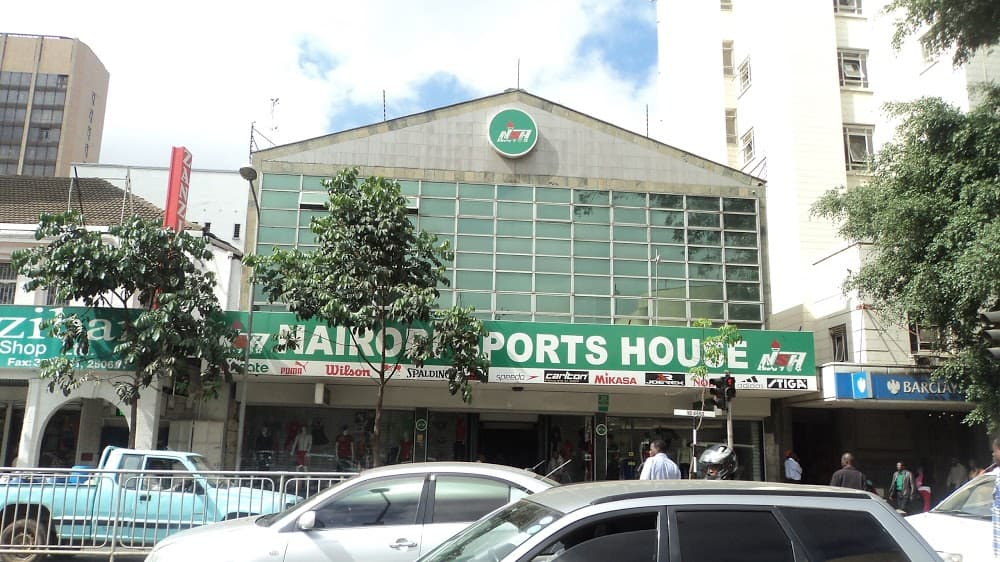 Nairobi Sports House contacts