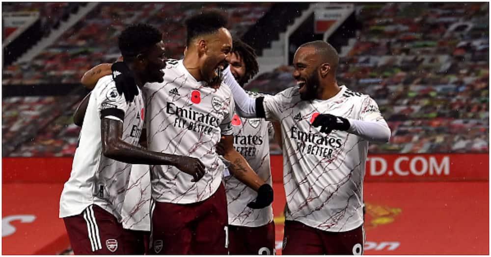 Man United vs Arsenal: Gunners waduwaza Mashetani Wekundu Old Trafford