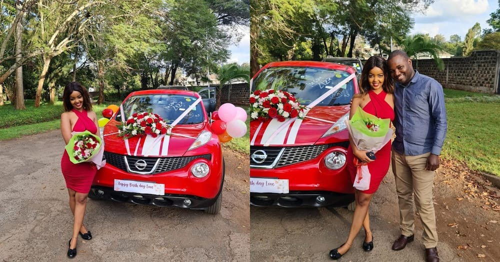 Wealthy Kisumu dentist who defied poverty gifts lover with brand new car on her birthday