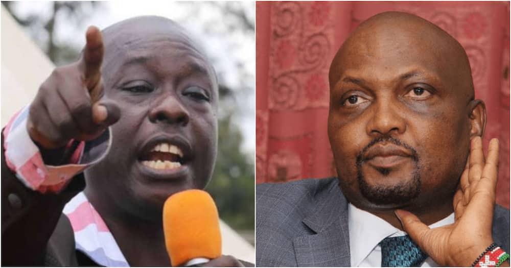 "Rigathi Gachagua Sneers at Moses Kuria's Political Strength: ""He's Alone, We're 62"""