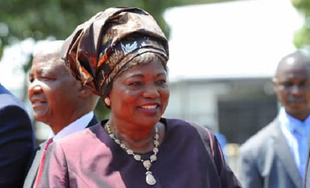Former First Lady Ngina Kenyatta in a past event. Photo: PSCU
