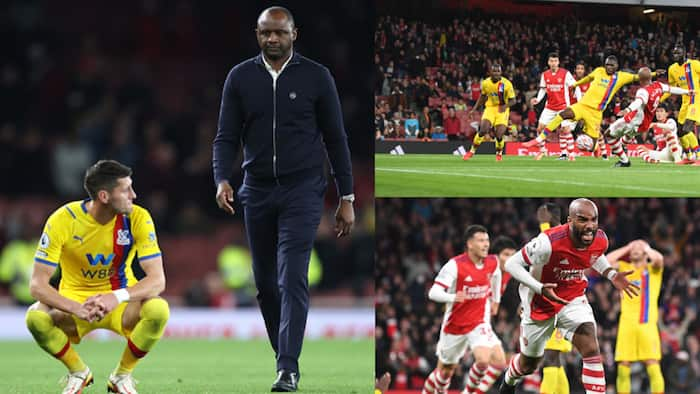 Arsenal vs Crystal Palace: Lacazette Snatches Point for Gunners on Patrick Viera's Return to Emirates