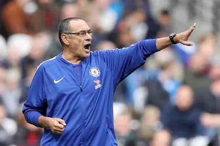 Chelsea boss Maurizio Sarri reveals who should be blamed for his side's defeat against Arsenal
