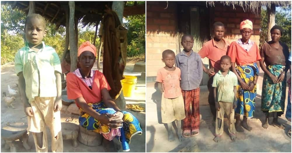The boy, identified as Joackim Musenga from Zambia stays with his widowed mother, who is also physically challenged.