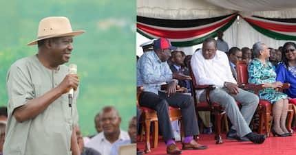 Raila says it was foolish for Ruto to politicise handshake deal during Uhuru's Kisumu tour