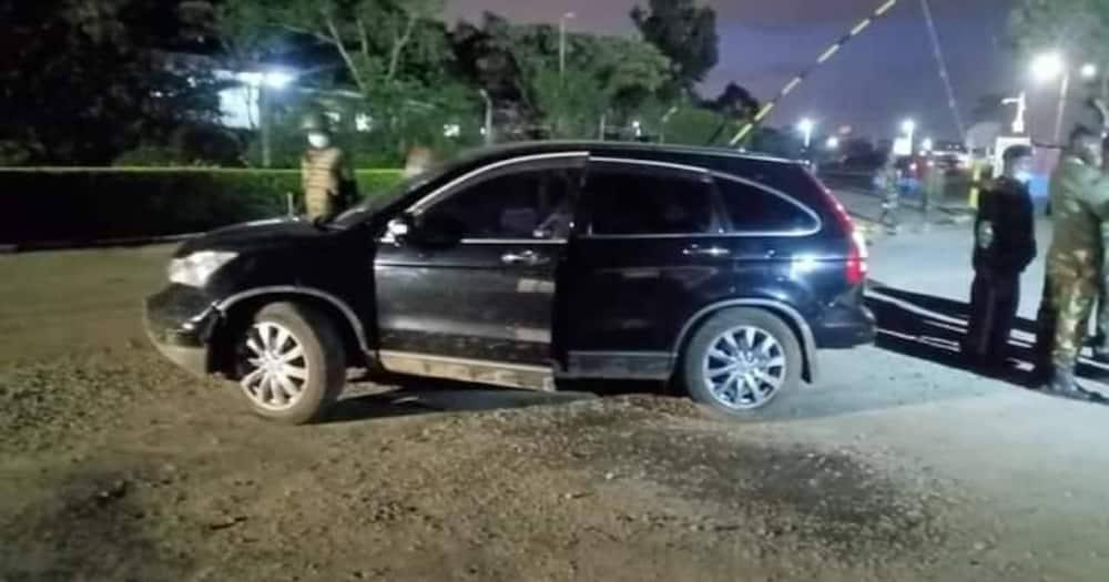 Kisanga chashuhudiwa afisa wa polisi akihepa kulipa mkopo wa gari