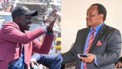 "Ngunjiri Wambugu congratulates Ruto's team for winning 3 by-election seats: ""They were organised"""