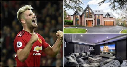 Inside Man United star Luke Shaw's KSh360 million magnificent mansion complete with gym, cinema