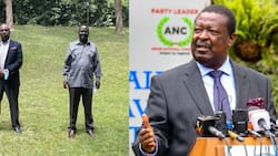 """Mudavadi Downplays Political Engagement Between Gideon, Raila: """"Maybe They Discussed Dowry"""