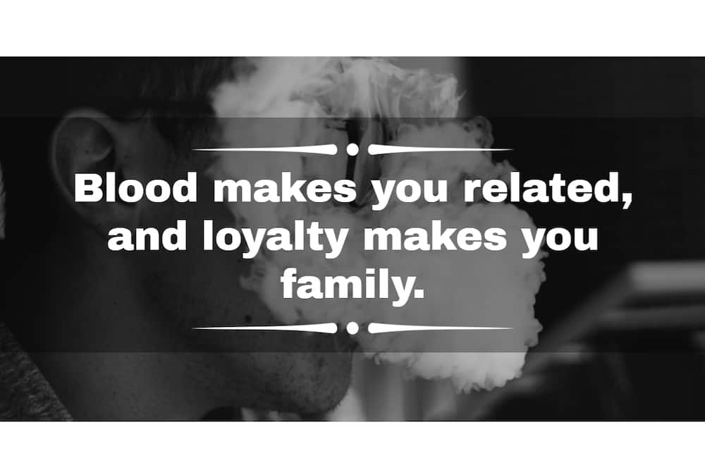 Gangster quotes about respect, life and love