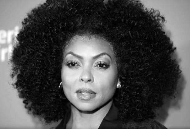 Black celebrities with curly hair