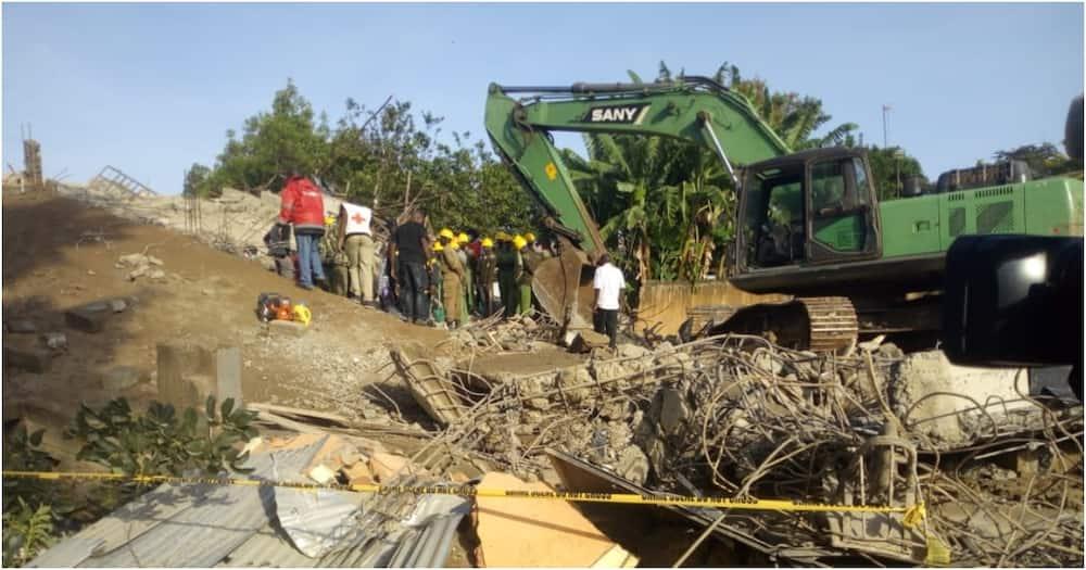 Kisumu: Jengo la orofa nne laporomoka
