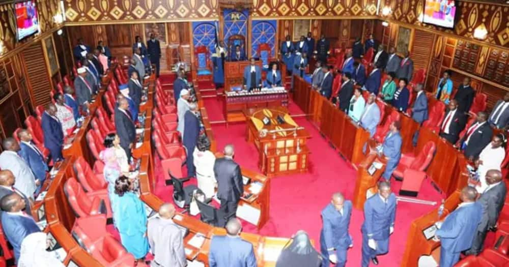 Cleophas Malala absent as Uhuru meets Senate leadership over contentious revenue sharing formula