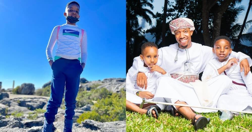 Rashid Abdalla and his sons.