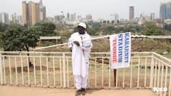 Joseph Chebii: Baringo Chief Who Opted to Walk to Nairobi to Meet Uhuru over Stadium Arrives