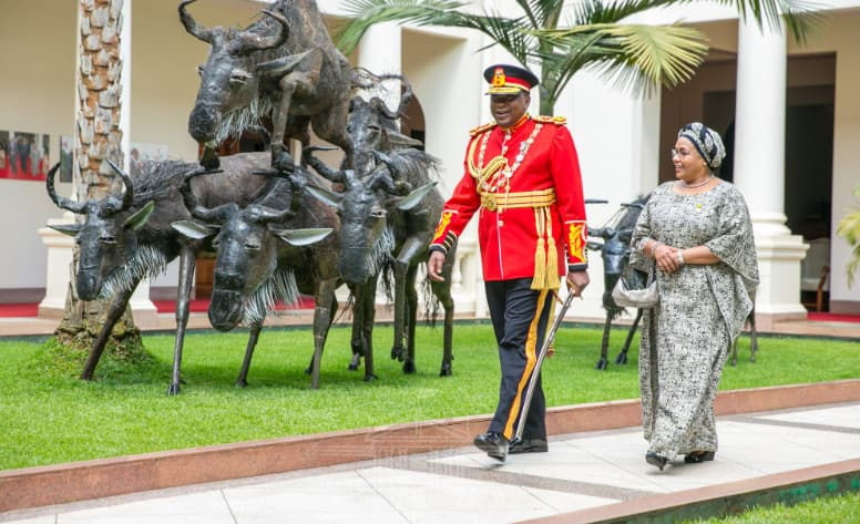 Uhuru, First Lady step out serving couple goals on Jamhuri Day and it's perfect