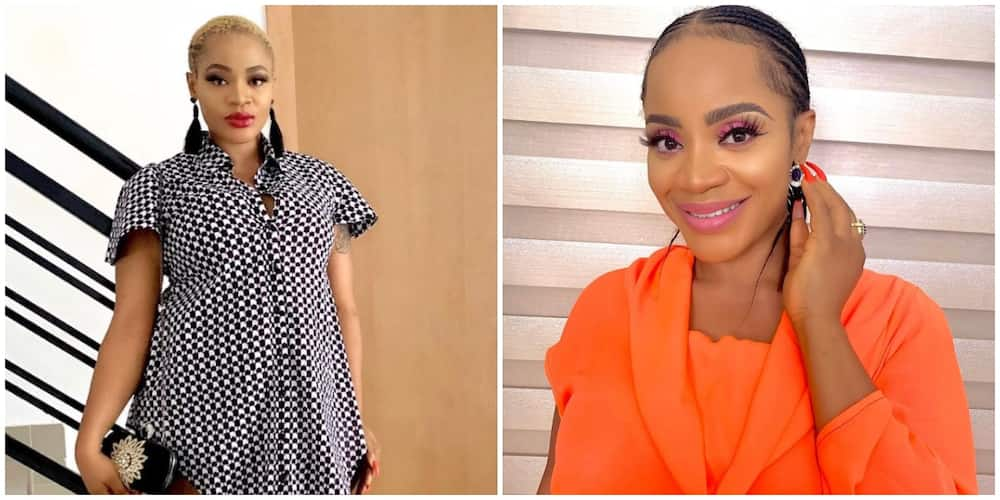 Pregnant Actress Uche Ogbodo Strongly Advises Fellow Ladies Against Abortion in IG Video