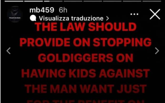 Mario Balotelli Goes on Explosive Rant About Women Who Have Children Against the Will of Men for Money