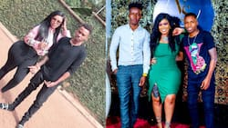 Vera Sidika poses for photo with rarely seen handsome brothers