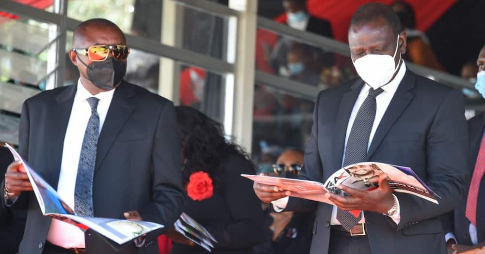William Ruto asks police officers to be fair, avoid political influence
