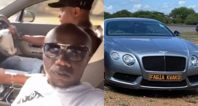 Image result for Harrowing video of two men flaunting flashy Bentley moments before accident goes viral