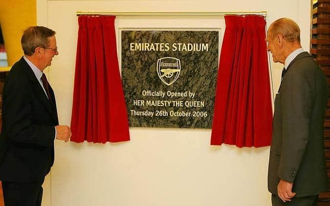 Arsenal pay tribute to Prince Philip, Duke of Edinburgh