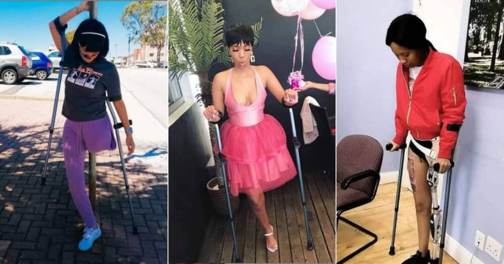 Nomawethu Mpuntshe, Lost Leg, Drunk Driver, accident, Welcomes 1st child