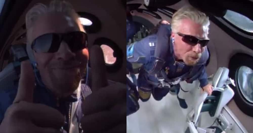 Richard Branson, Space, Virgin, VSS Unity