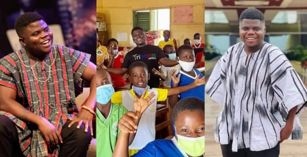 Wode Maya: Current Biggest Ghanaian Youtuber Donates over Ghc 59,000 to keep 100 kids in School