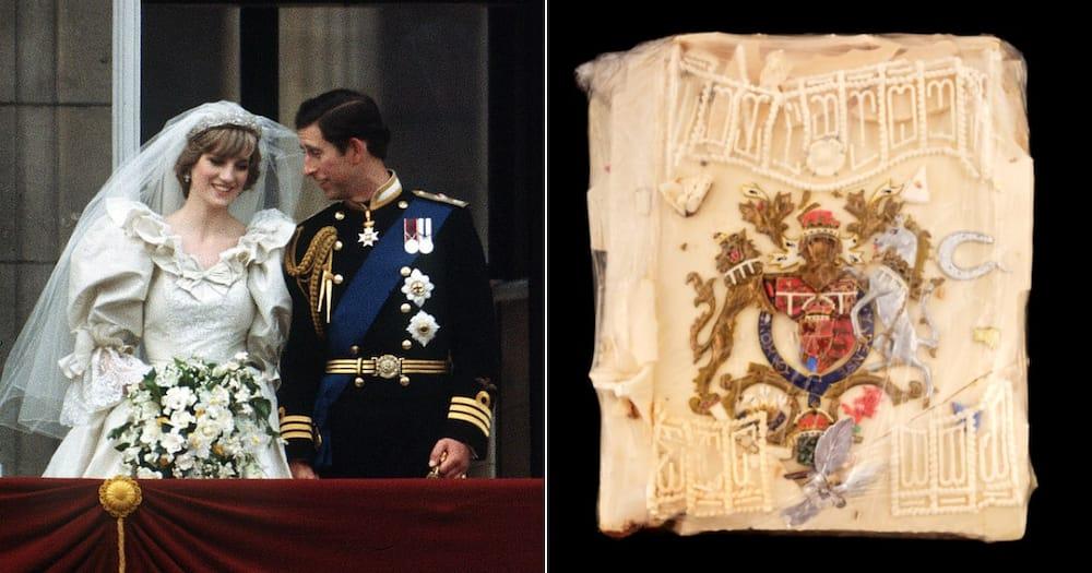 Princess Diana, Prince Charles, Wedding Cake Slice, Auction, R10K