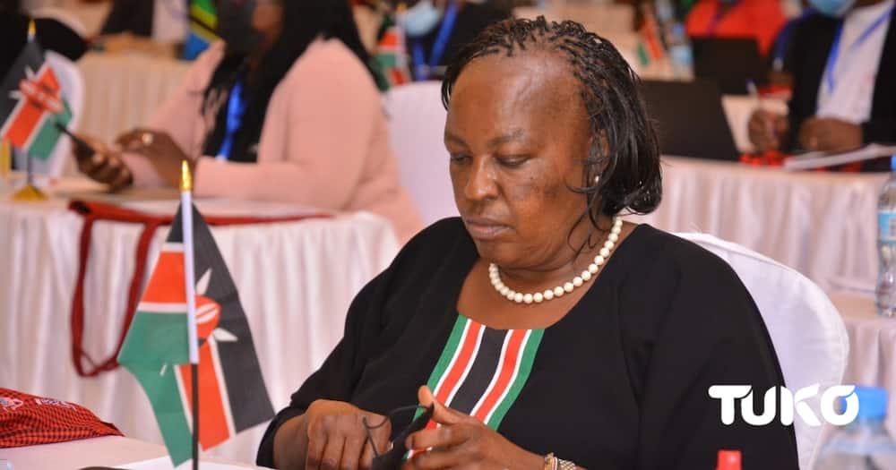 Kiambu First Lady Sarah Nyoro. Photo: Mercy Chebet TUKO correspondent.