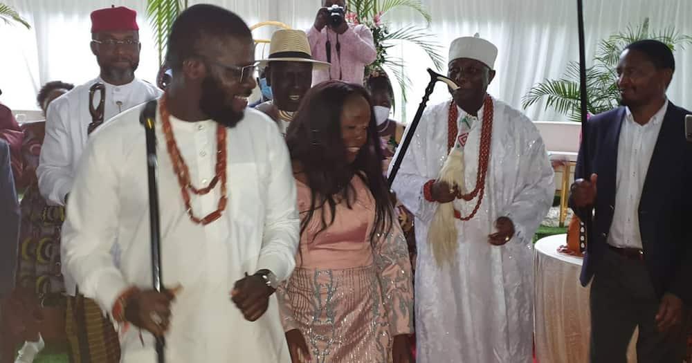 DP Ruto Amuoza Bintiye June Ruto kwa Mchumba kutoka Nigeria, Akutana na Wakwe Karen