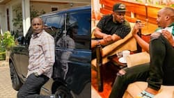 Starehe MP Jaguar shows off his massive living room during meeting with rapper Nonini