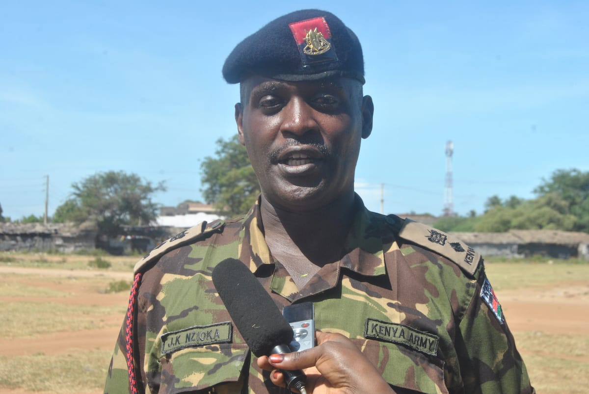 KDF recruit collapses during exercise in Malindi, dies in hospital