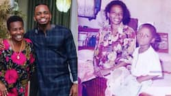 """Diamond Celebrates Mother's Birthday with Lovely TBT Snaps: """"Thank You for Life"""""""