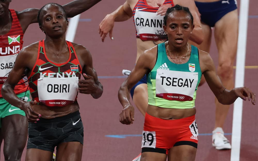 Obiri qualified for the women's 5000m finals.