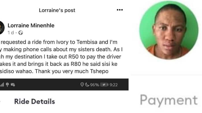 Driver Returns Customer's Payment after Learning She Lost Her Sister