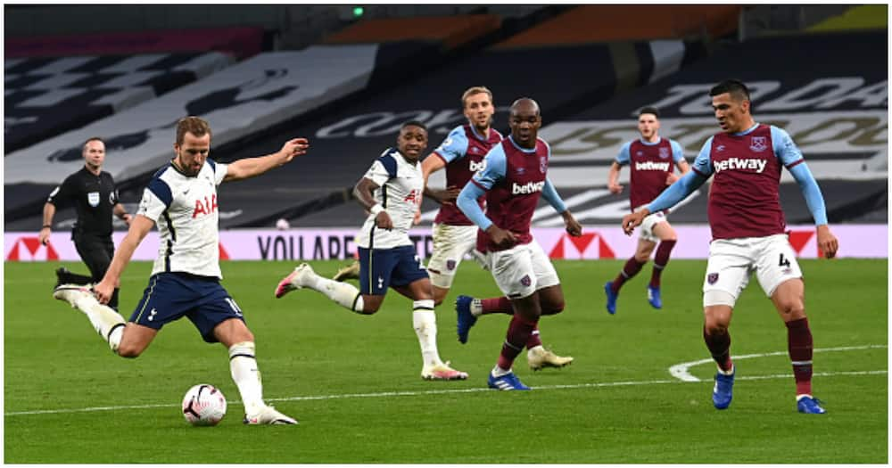 Jose Mourinho says West Ham were lucky after Spurs threw 3-0 lead to draw 3-3