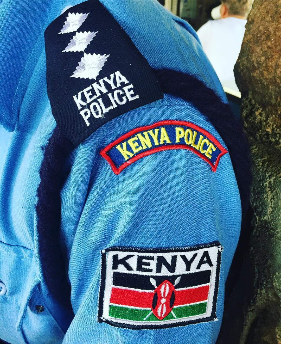 Kenya police ranks and badges from lowest to highest 2019