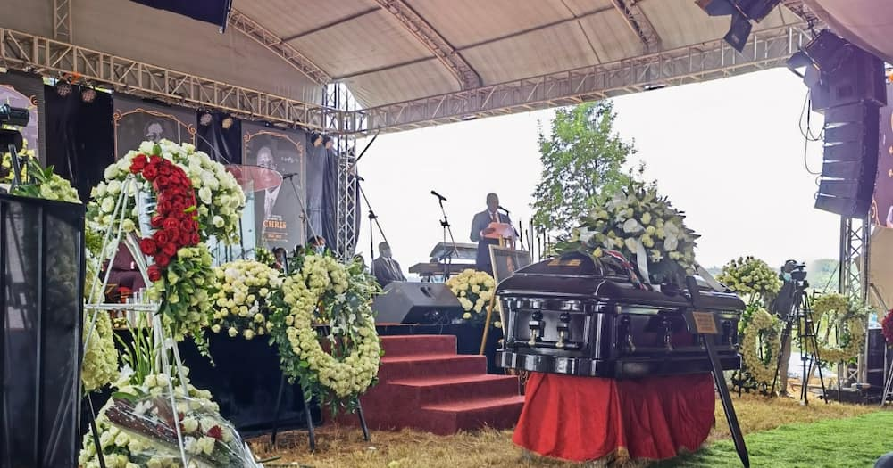 Photos of Chris Kirubi's Final Journey in Murang'a, Family Says Their Won't Be Tussle for Wealth